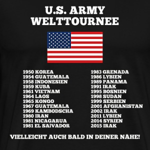 US Army World Tour - Mannen Premium T-shirt