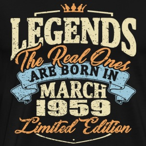 Real legends are born in march 1959
