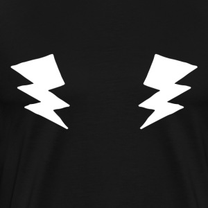 Electric chest - Fitness Sports Lightning Thunderstorm - Men's Premium T-Shirt