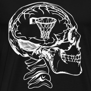 Basketball in the head - Men's Premium T-Shirt