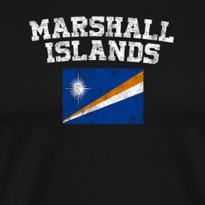 Marshallese Flag Shirt - Vintage Marshall Islands - Men's Premium T-Shirt