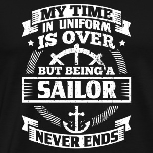 Funny Sailsailing Sailor Shirt Time Uniform - Men's Premium T-Shirt
