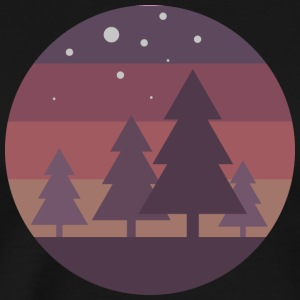 Pine Trees - Men's Premium T-Shirt