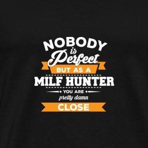 Milf Hunter - Gift - Mature Women - Sex - Men's Premium T-Shirt