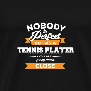 Tennis Player Gift - Tennisspillere - Gift - Premium T-skjorte for menn