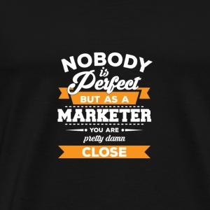 Marketer - Marketing - Geschenk - Werbeagentur - Men's Premium T-Shirt