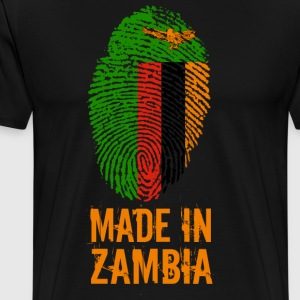 Made In Zambia / Zambia - Men's Premium T-Shirt
