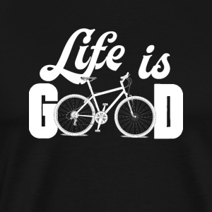 Life is Good Biker - Men's Premium T-Shirt