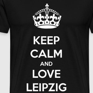 Love Leipzig! Saxony - Men's Premium T-Shirt