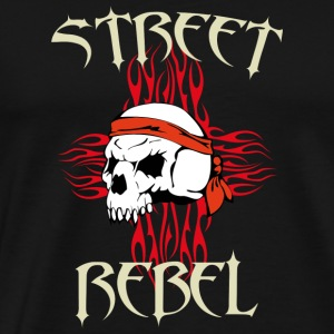 street Rebel - Premium T-skjorte for menn