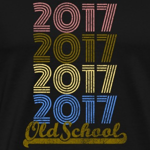 Old School 2017 - T-shirt Premium Homme