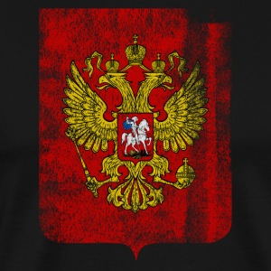 Russian Coat of Arms Russia Symbol - Men's Premium T-Shirt