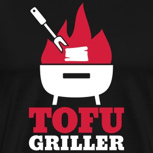 Tofu Griller - gift for vegans and vegetarians - Men's Premium T-Shirt