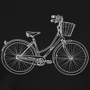 An illustration of a ladies bike.