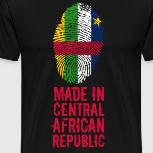 Made In Centralafrikanska republiken - Premium-T-shirt herr
