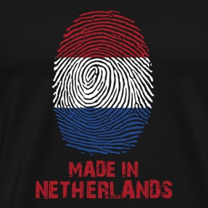Netherlands Flag - Made in Holland - Gift - Premium-T-shirt herr