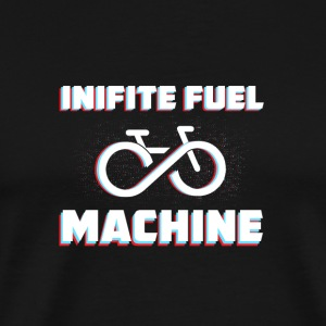 Infinite Fuel - Bicycle Machine - Men's Premium T-Shirt