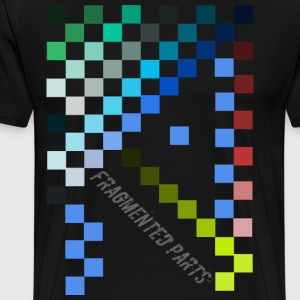 Fragmented Parts - Men's Premium T-Shirt