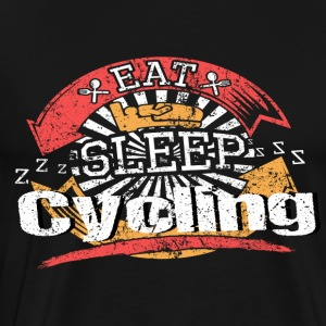 Eat Sleep Cycling - Men's Premium T-Shirt
