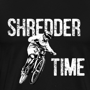 Shredder timebike - Men's Premium T-Shirt