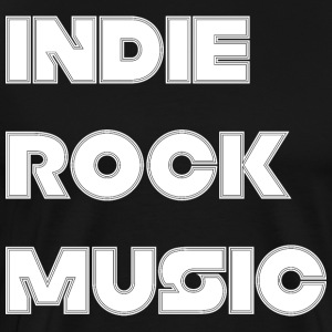 INDIE ROCK MUSIC - T-shirt Premium Homme