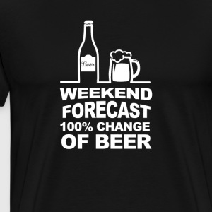 Beer Tshirt-Weekend Beer - Premium T-skjorte for menn