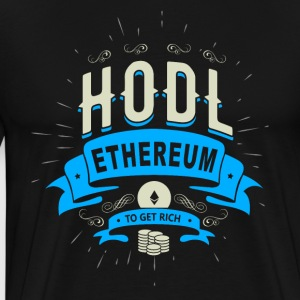 Hodl Ethereum - Men's Premium T-Shirt
