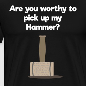 Pick the Hammer - gift - Men's Premium T-Shirt