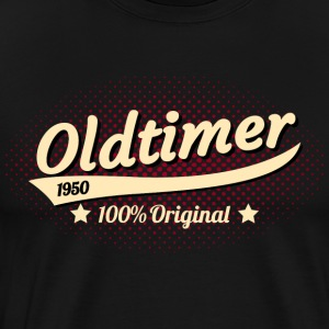 1950 vintage car - Men's Premium T-Shirt