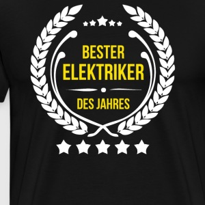 Best electrician of the year - Men's Premium T-Shirt