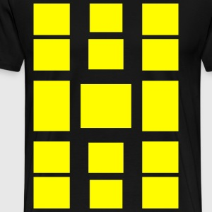 quadrangles - Men's Premium T-Shirt