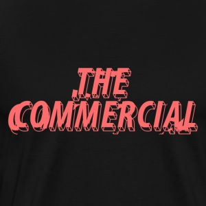 The Commercial Ontwerp # 1 (zalm - Mannen Premium T-shirt
