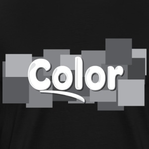 Color - Premium T-skjorte for menn