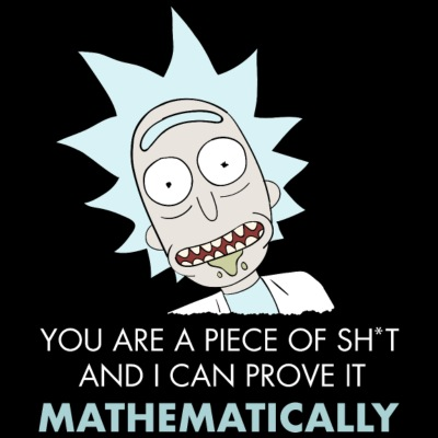 Rick And Morty Mathematical Proof Quote