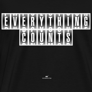 Everything Counts white - Männer Premium T-Shirt
