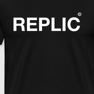 replic typo Humor Statement irony fun replication - Men's Premium T-Shirt
