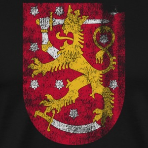Finish Coat of Arms Finland Symbol - Premium-T-shirt herr