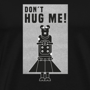 Kuh Rock / do not hug me - Männer Premium T-Shirt