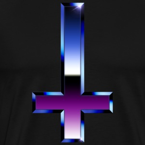 Chrome Cross - Premium-T-shirt herr