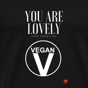 Lovely Vegan - Men's Premium T-Shirt