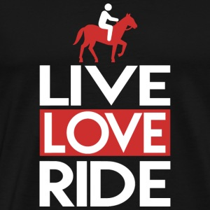 Live Love Ride Live Love Ride Horse Riding Club - Men's Premium T-Shirt