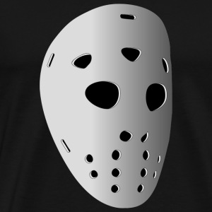 Ice Hockey Mask - Men's Premium T-Shirt