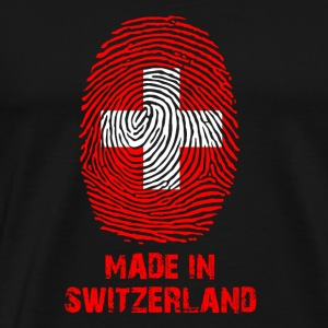 Schweiz Flag - Made in Schweiz - gave - Herre premium T-shirt