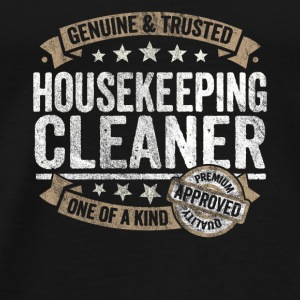 Housekeeping Cleaner Premium Quality Approved - Männer Premium T-Shirt