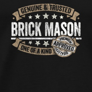 Brick Mason Premium Quality Approved - Men's Premium T-Shirt