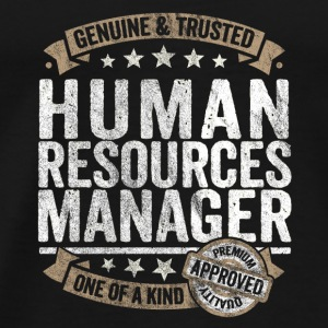 Human Resources Manager Premium Quality Approved - Men's Premium T-Shirt