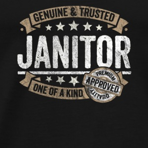 Janitor Premium Quality Approved - Men's Premium T-Shirt