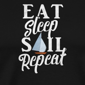 EAT SLEEP VOILE REPEAT / VOILE - T-shirt Premium Homme