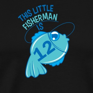 This Little Fisherman Is 12 Years Old - Men's Premium T-Shirt