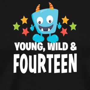 Young wild and Fourteen - Men's Premium T-Shirt